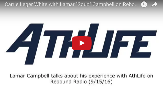 "Lamar ""Soup"" Campbell and Carrie Leger White on Rebound Radio"