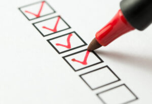 Checking Goals off List